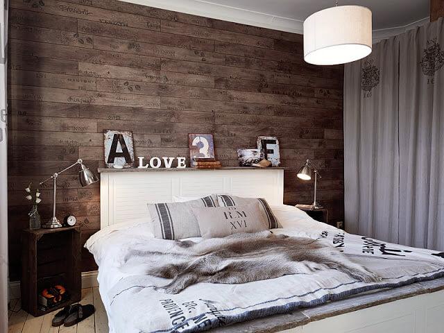 Piso para parede de quarto na parede