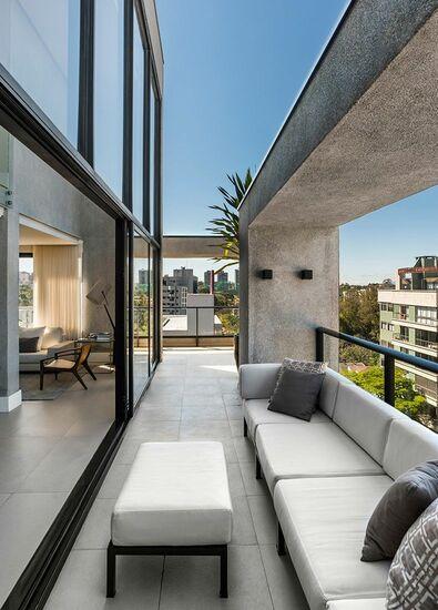 piso para varanda - varanda com piso cinza