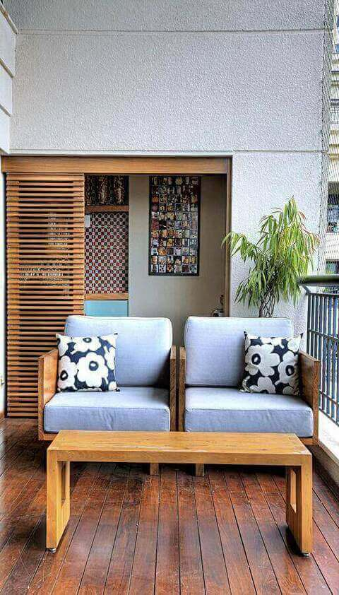 piso para varanda - varanda com piso de madeira