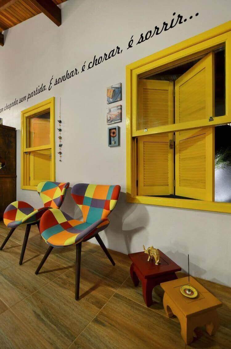 piso para varanda - varanda com piso que imita madeira