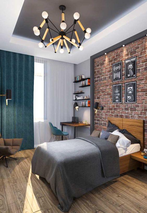 Pisos para quarto moderno