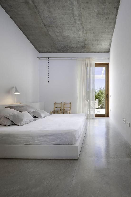 Pisos para quarto minimalista
