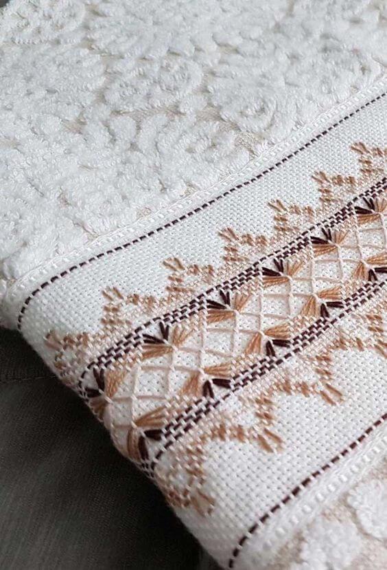 toalha de rosto com vagonite