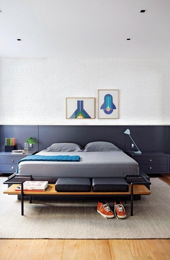 quadros decorativos para quarto minimalista Foto Pinosy
