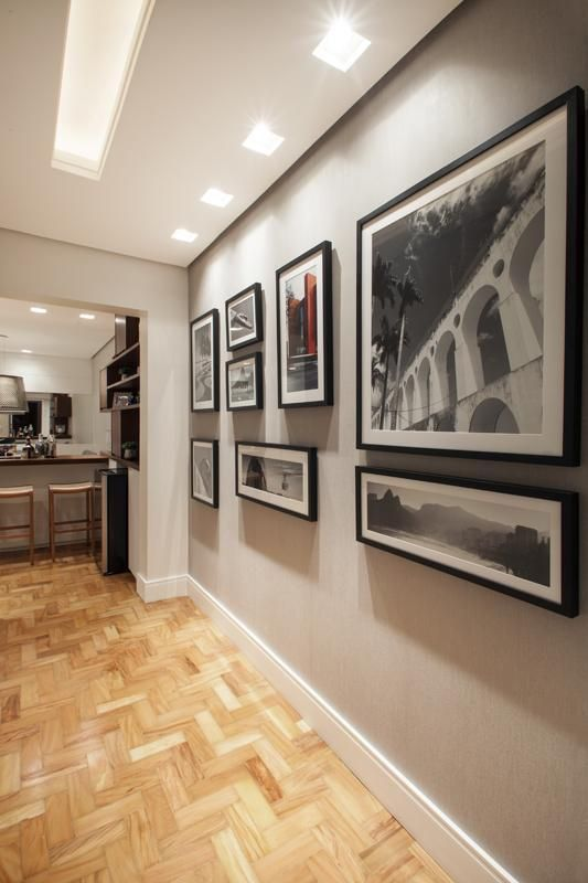 sinteco - corredor com piso de taco