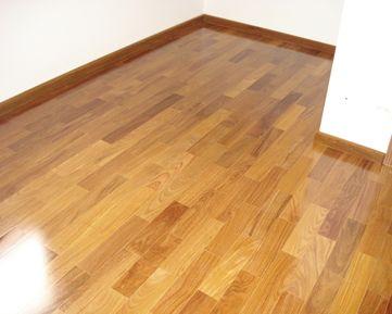 sinteco - detalhe de piso laminado com sinteco