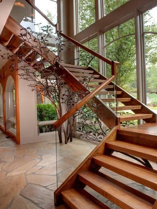 sinteco - escada de madeira com sinteco