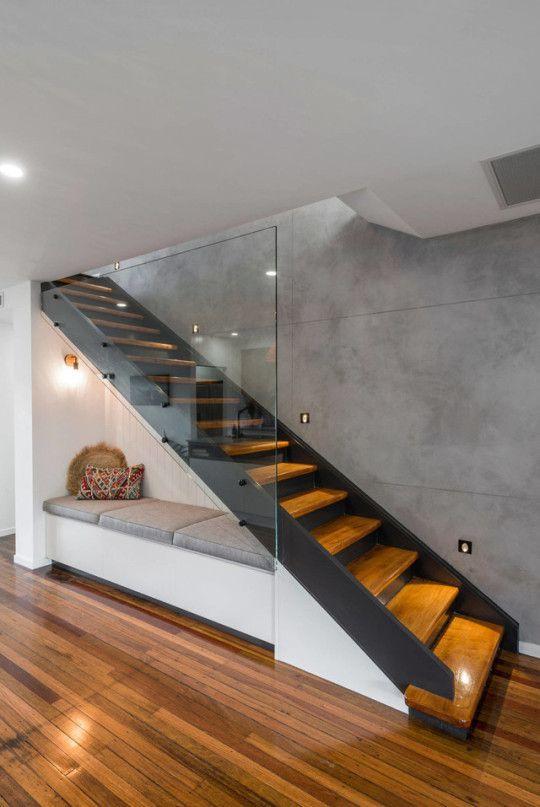 sinteco - piso e escada de madeira