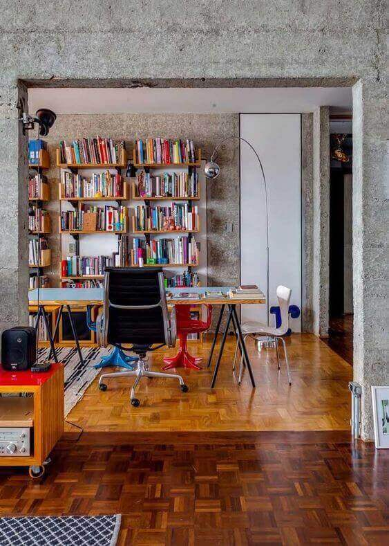 sinteco - pisos com tacos de tonalidades diferentes
