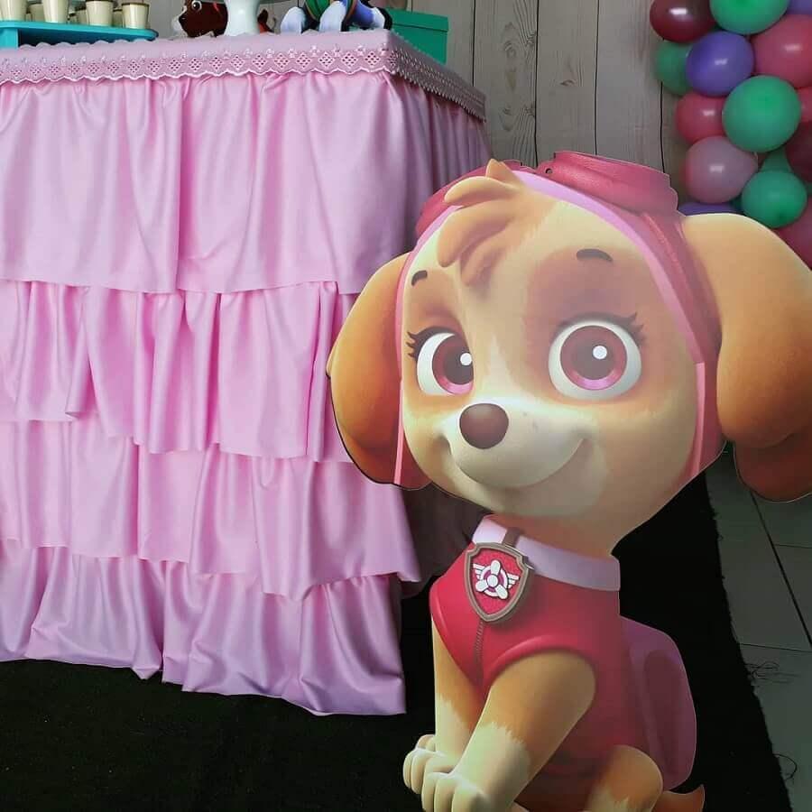 tema de aniversario patrulha canina Foto Mamãe Festeira Decor