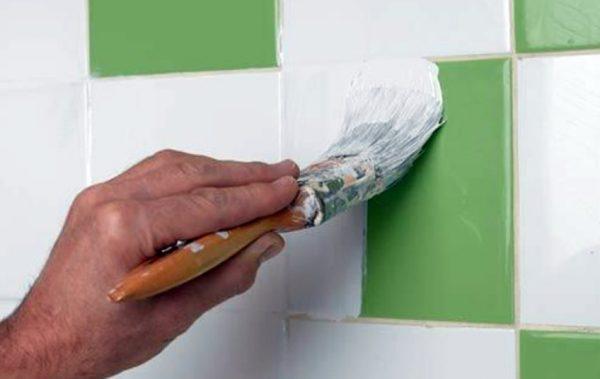 Tinta para azulejo branca