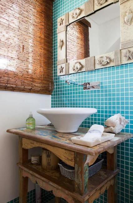 toalha de lavabo - cuba redonda branca