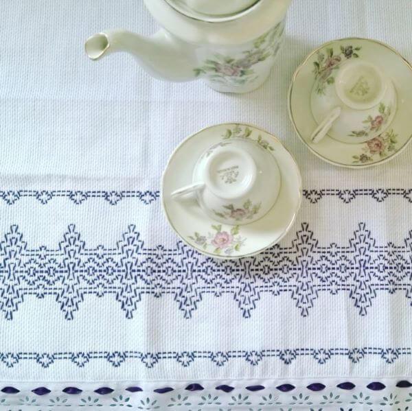 toalha de mesa em vagonite