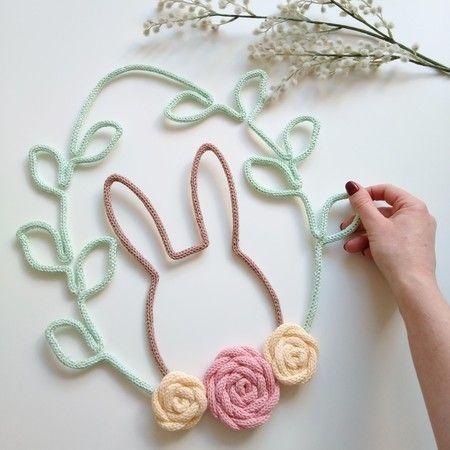 tricotin - coelho em tricotin