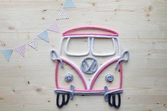 tricotin - kombi feita em tricotin