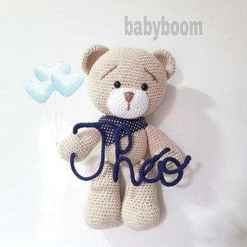 tricotin - urso de tricotin