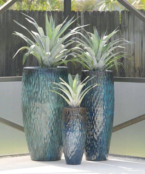 Vaso vietnamita azul
