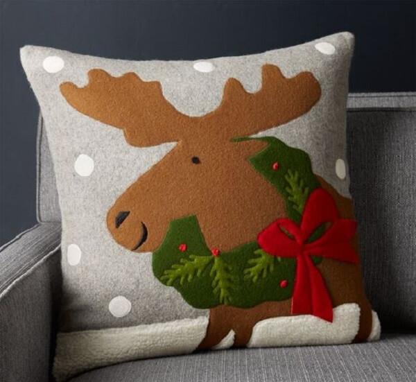 Almofada de Natal super fofa e delicada