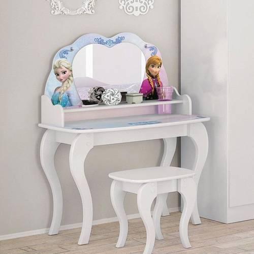 Penteadeira infantil princesas frozen