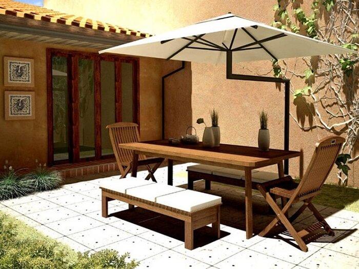 Evite deixar os móveis de madeira expostos diretamente ao sol