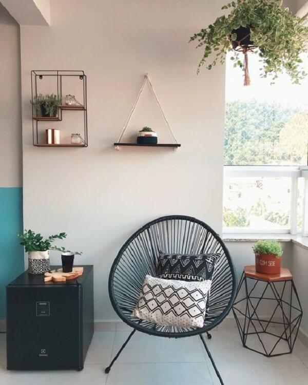 Invista em almofadas para cadeiras de jardim