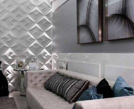 Modernidade e sofisticação para a sala de estar