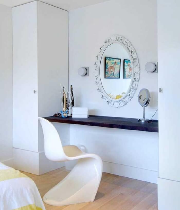 Moldura de gesso para espelho