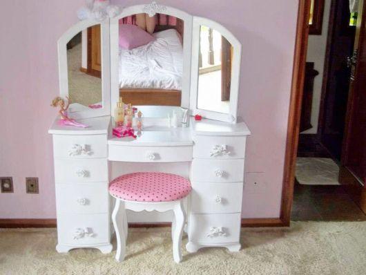 Penteadeiras modernas para quarto infantil