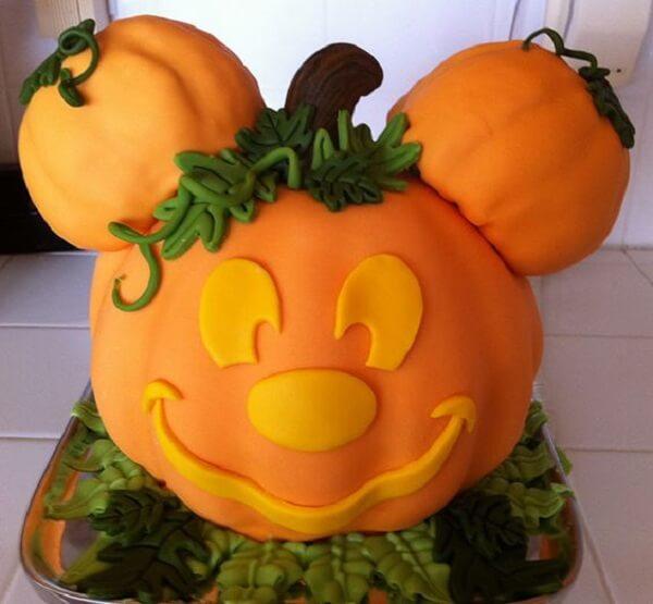 Que tal unir Halloween com o Mickey