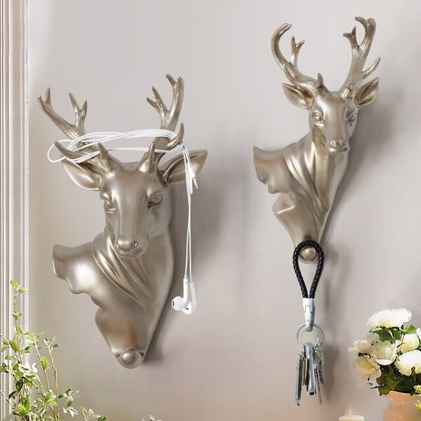 Gancho de parede metálico