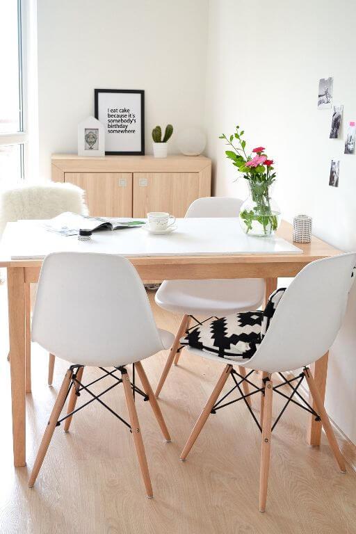 Almofada para cadeira eames