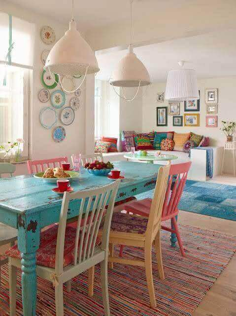 Almofada para cadeiras de cozinha