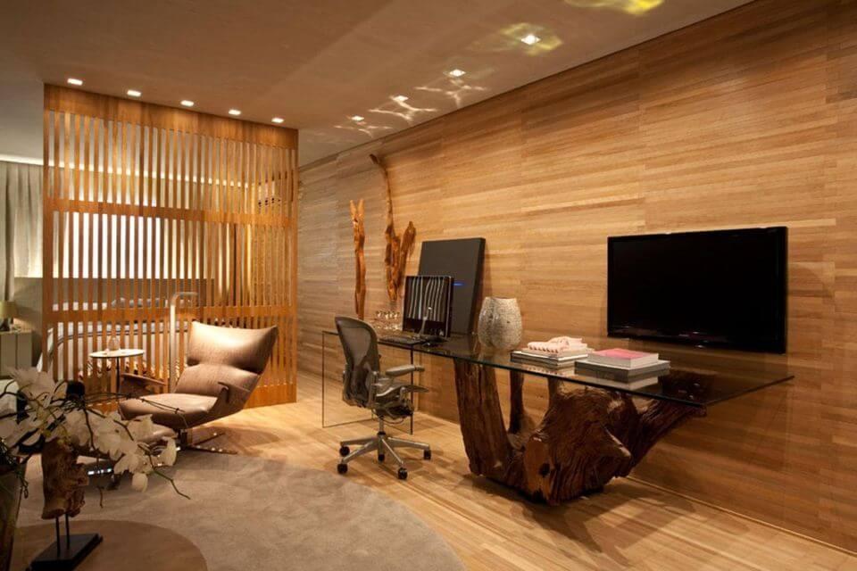 cadeira para escrivaninha - escrivaninha com estrutura de tronco