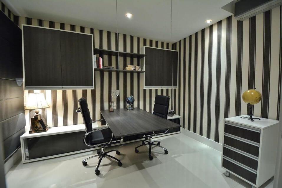 cadeira para escrivaninha - home office com duas cadeiras