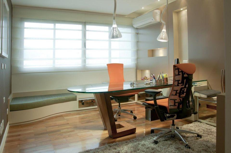 cadeira para escrivaninha - home office com duas cadeiras profissionais