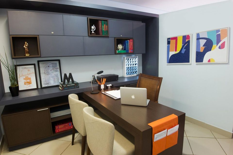 cadeira para escrivaninha - home office com quartos decorativos