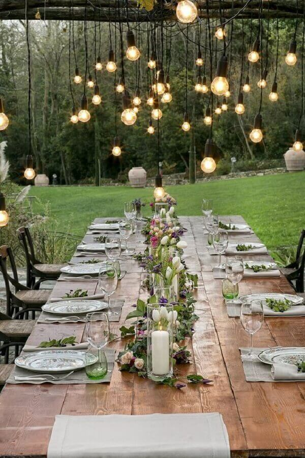 casamento mini wedding rústico Foto Pinterest