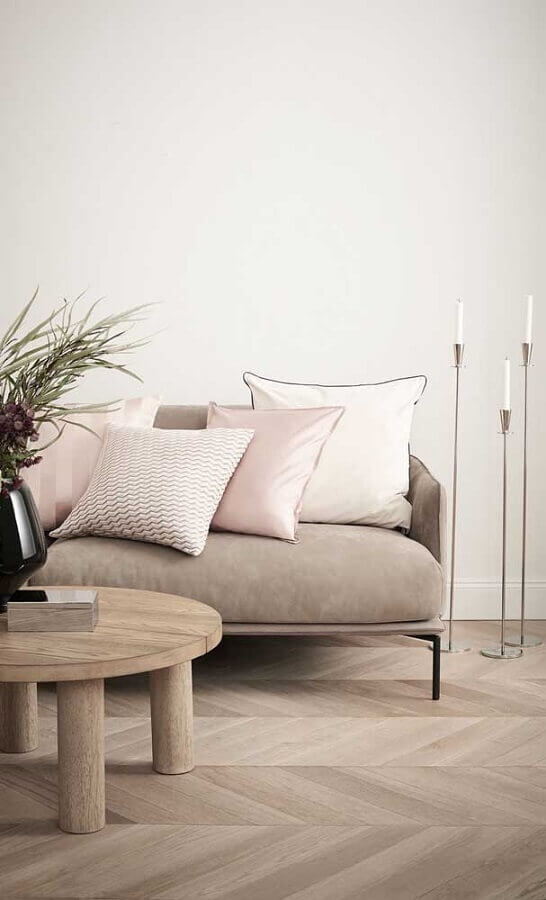 castiçais para decoração de sala minimalista Foto H&M