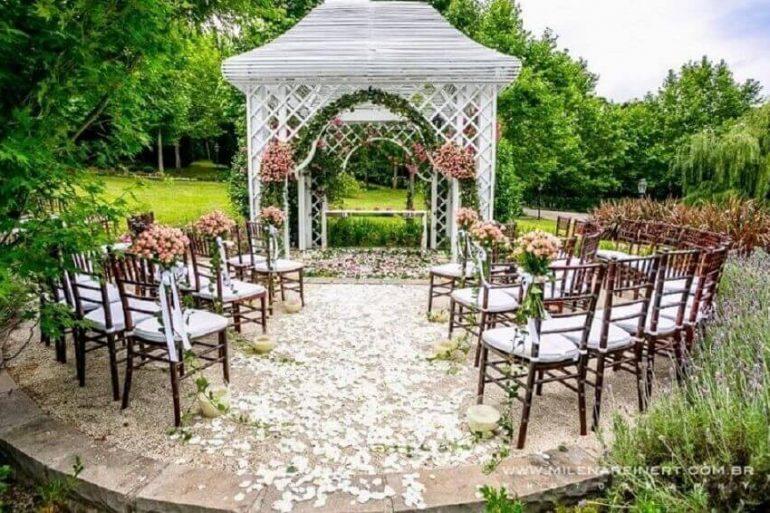 cerimônia de mini wedding ao ar livre Foto Primordiale Eventos