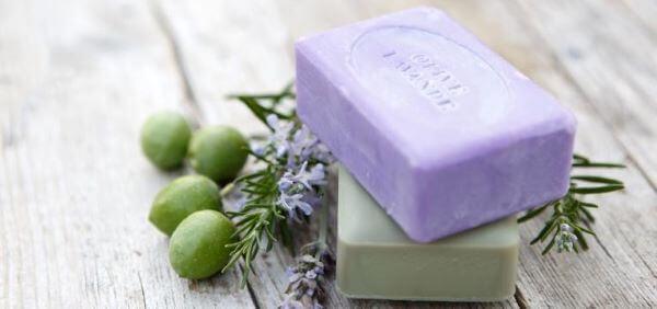 Como fazer sabonete artesanal lilás e verde