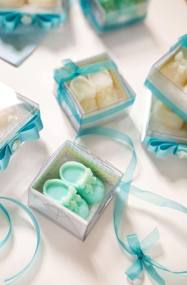 Como fazer sabonete artesanal para chá de bebê
