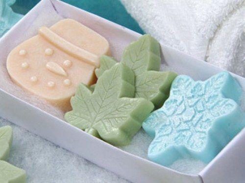 Como fazer sabonete artesanal para lembrancinhas de natal