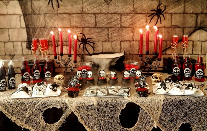 Como organizar uma festa de halloween