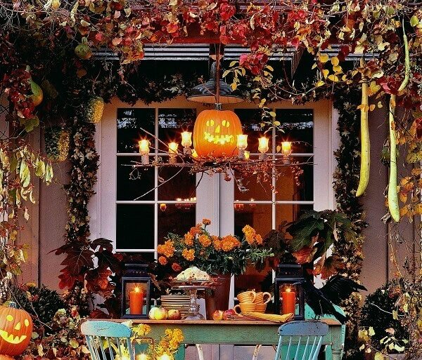 decoração dia das bruxas Foto Pour la Maison