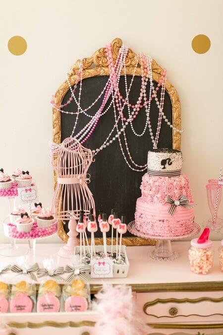 Festa da barbie paris