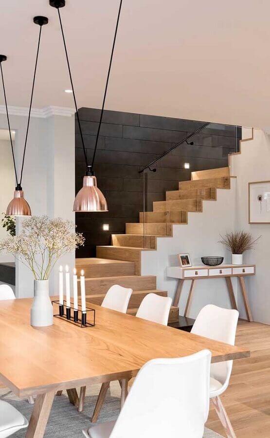 decoração para sala de jantar com castiçal moderno Foto World is Changing