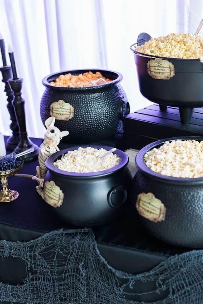 doces para festa de halloween