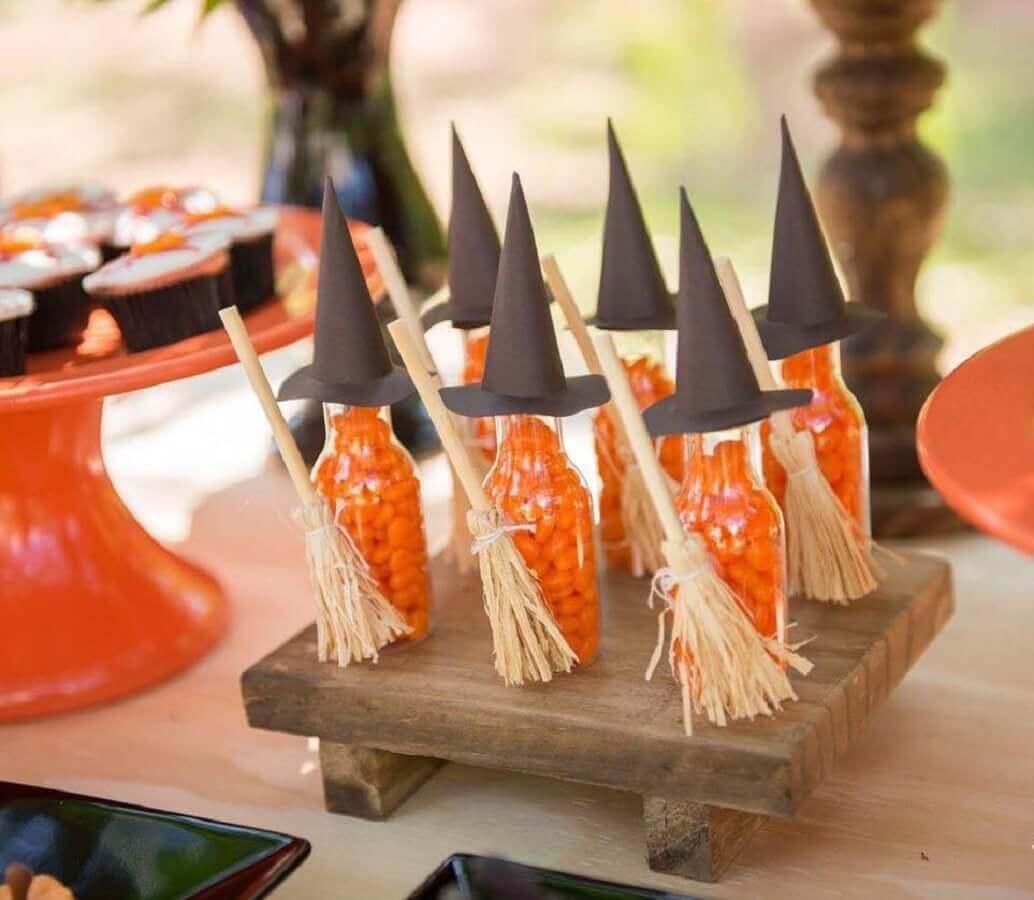 docinhos decorado para mesa de dica das bruxas Foto Dicas de Mulher