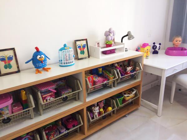 estante para guardar brinquedos
