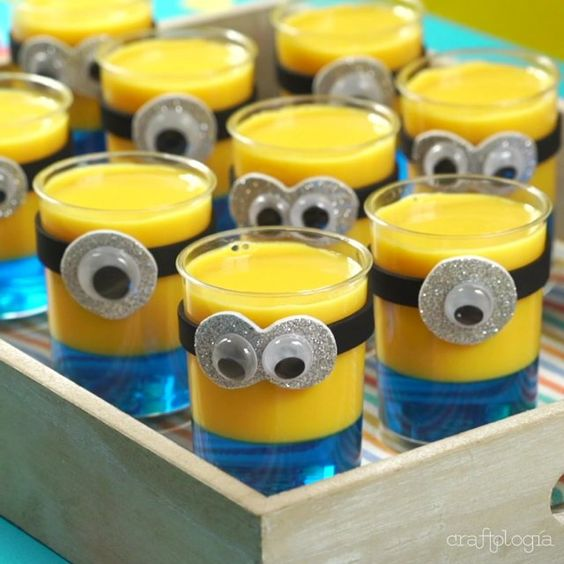 festa dos minions - doces decorados dos minions